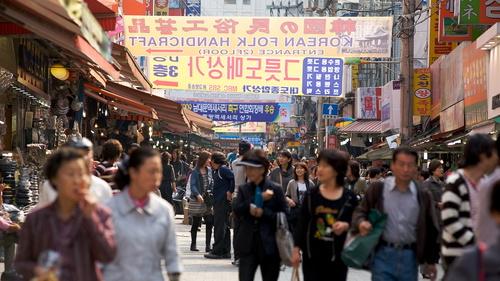 ソウルの南大門市場