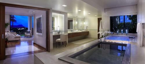 ハレクラニ バスルーム