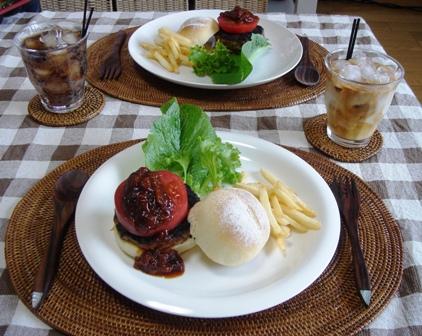 ★カフェ風ハンバーガーセット★