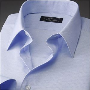 夏のタイトフィット 形態安定半そでワイシャツ 5枚セット L