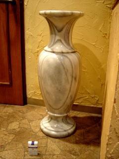 大理石の花瓶