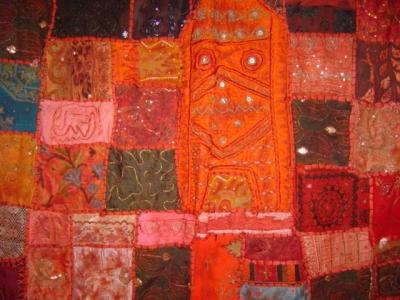 インドの布
