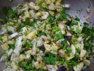 野菜パコラの材料
