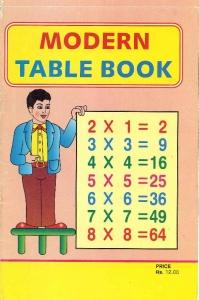 インド九九の教科書1