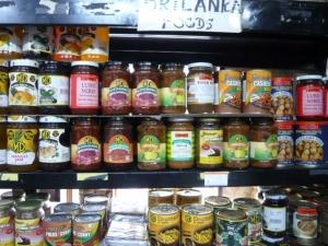 スリランカの食品