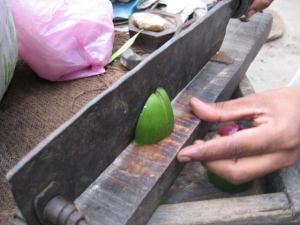 インド八百屋の包丁
