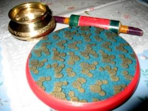 チャパティを作る道具