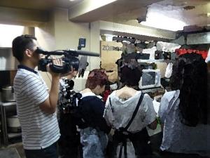 日本TV取材