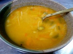 豆の野菜のスープ