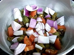 野菜入れる
