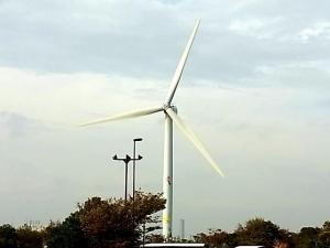 若洲風力発電施設