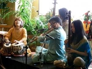 インド音楽演奏会