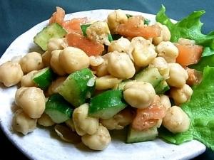 ひよこ豆サラダ