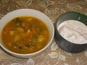 野菜スープ・野菜ライタ