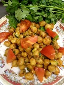 チャナ豆のサラダ