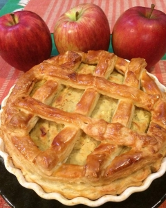 栗とサツマイモのパイ