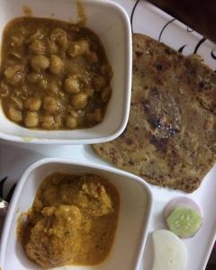 ある日の北インドの夕食