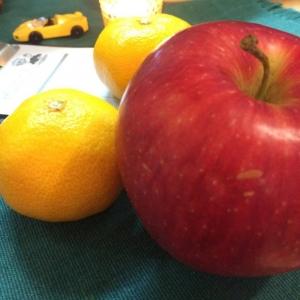 りんごとみかん