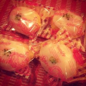 手作りレモンケーキ