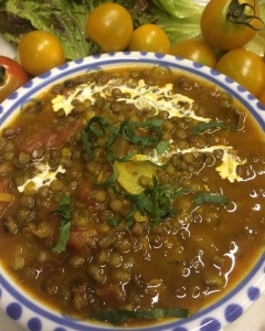 緑豆のカレー