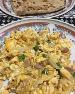 インド人の朝ごはん