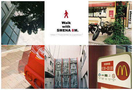 Walk with SMENA 8M