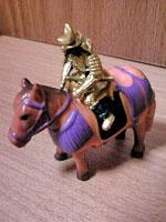 織田信長を馬に乗せてみる。