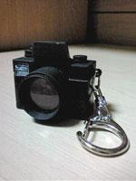 リアルなカメラキーホルダー