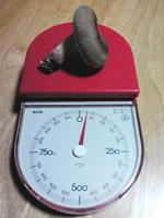 重さを計ってみました