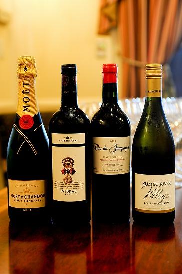 食事でのワイン