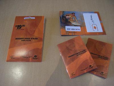 Boost SIM Pack