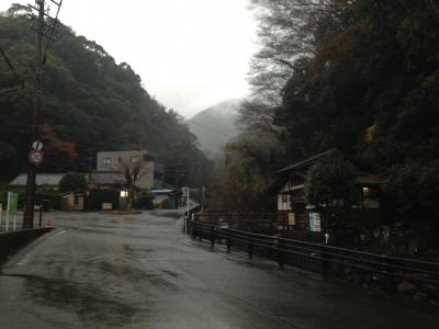 花沢集落入口
