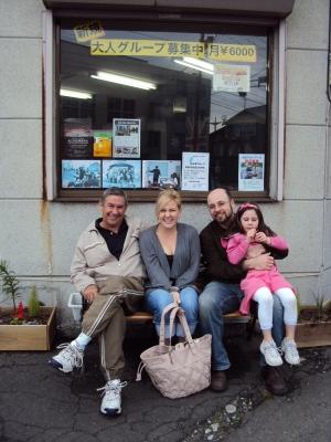 Benの家族がオーストラリアからやって来ました!