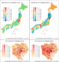 地価変動率に見る注目され続けるエリア