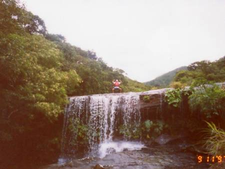 幻の滝!?