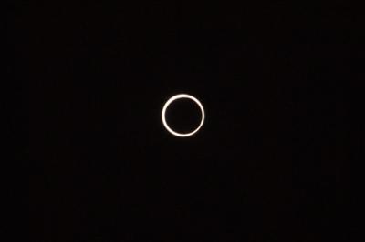 金環日食in神島