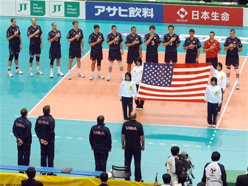 Stars & Stripes(国旗) にタタカイを誓う、チーム USA。