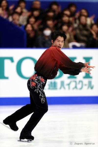 Tatsuki MACHIDA 町田樹選手 © Japan Sports