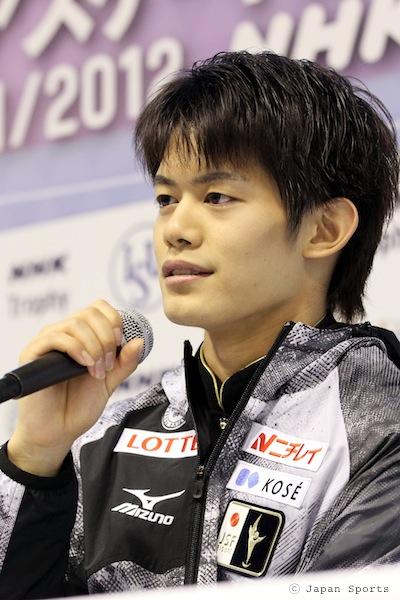 Takahiko KOZUKA 小塚崇彦 © Japan Sports