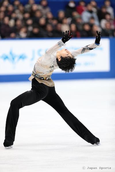 Yuzuru HANYU 羽生結弦 © Japan Sports