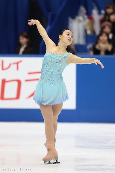 Yuki NISHINO 西野友毬 © Japan Sports