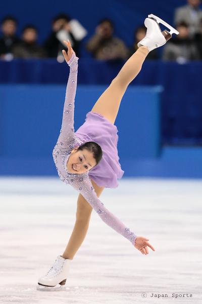 Mao ASADA 浅田真央 © Japan Sports