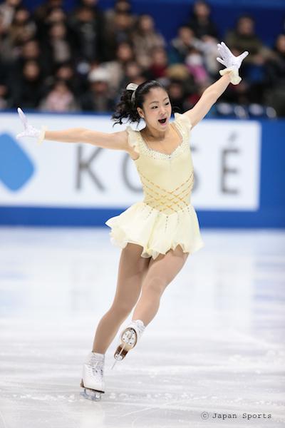 Kanade HASEGAWA 長谷川奏 © Japan Sports