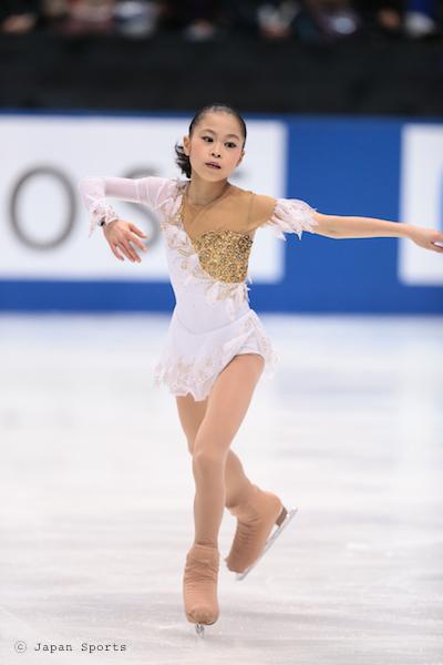 Satoko MIYAHARA 宮原知子 © Japan Sports