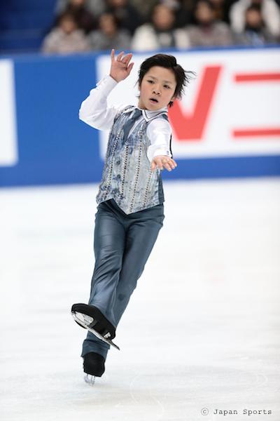 Shoma UNO 宇野昌磨 © Japan Sports