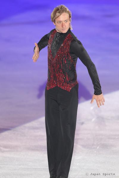 Evgeni Plushenko エフゲニー・プルシェンコ © Japan Sports