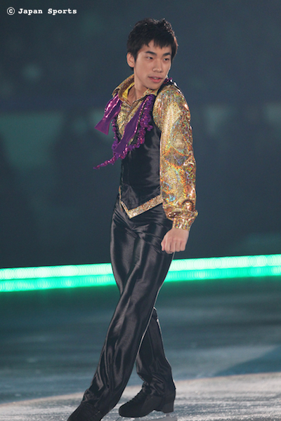 Nobunari ODA 織田信成 © Japan Sports