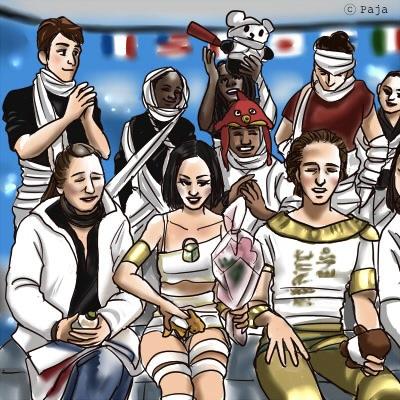 Team FRANCE © Paja