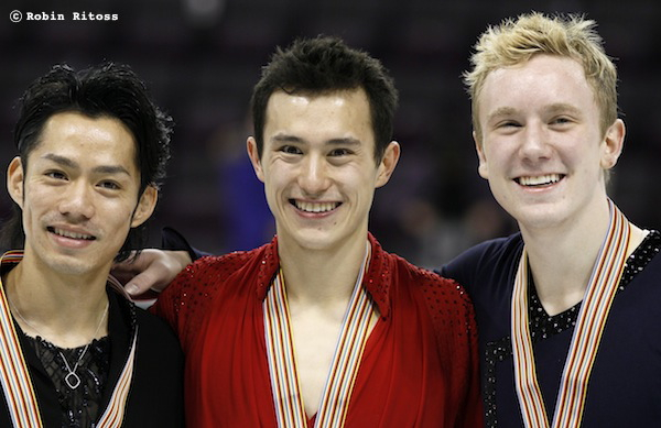 Daisuke TAKAHASHI 高橋大輔 Patrick CHAN Ross MINOR © Robin Ritoss