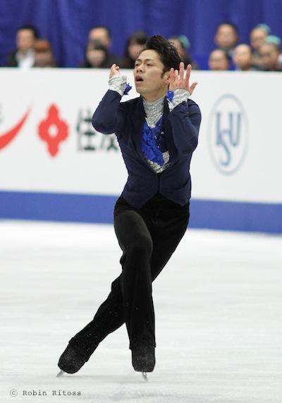 Daisuke TAKAHASHI 高橋大輔 © Robin Ritoss